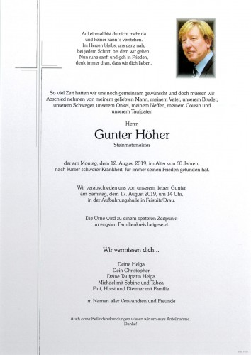 Gunter Höher