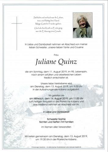Juliane Quinz