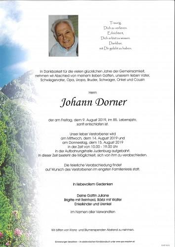 Johann Dorner