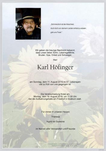 Karl Höfinger