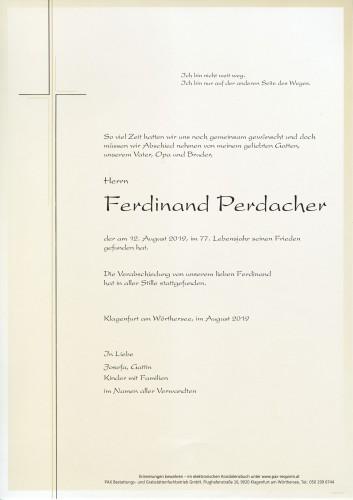 Ferdinand Perdacher