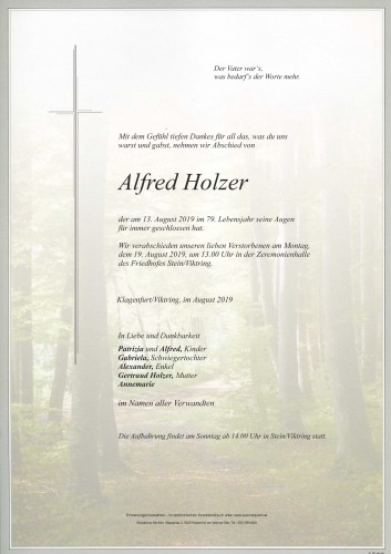 Alfred Holzer