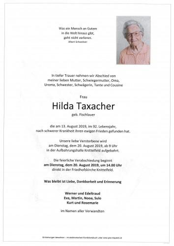Hilda Taxacher