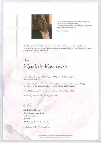 Rudolf Kramer