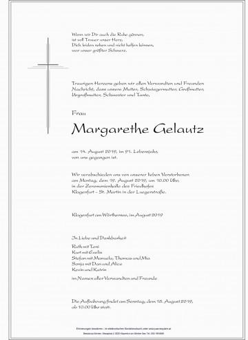 Margarethe Gelautz