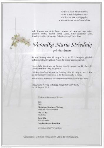 Veronika Maria Striednig