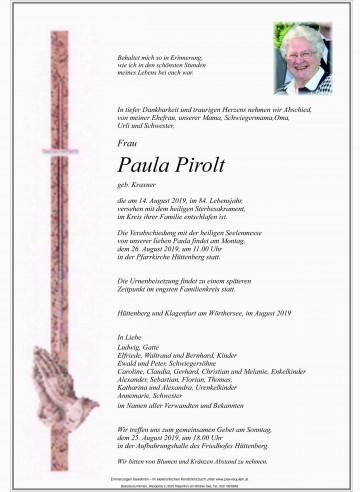 Paula Pirolt