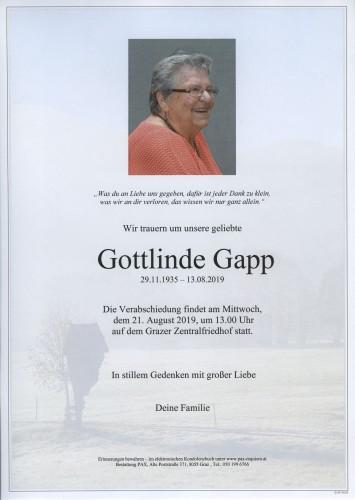 Gottlinde Gapp