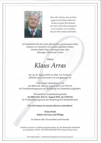 Klaus Arras