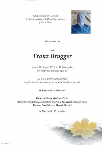 Franz Brugger