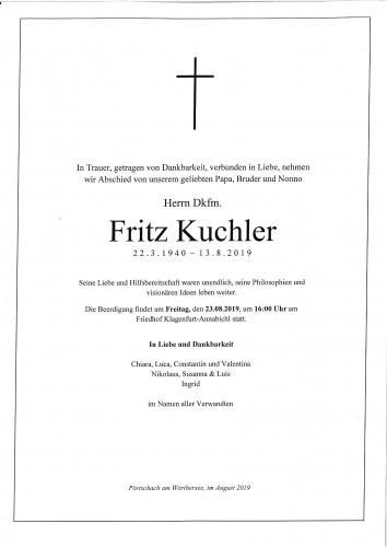 Dipl.-Kfm. Fritz Kuchler