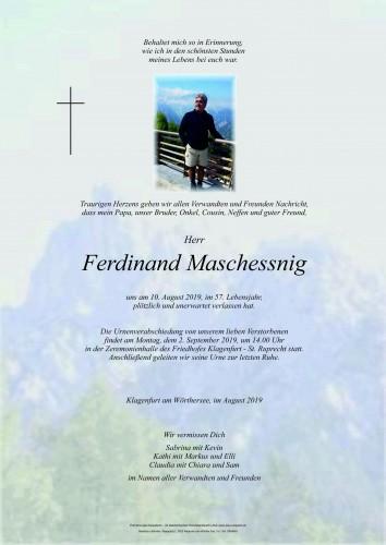 Ferdinand Maschessnig