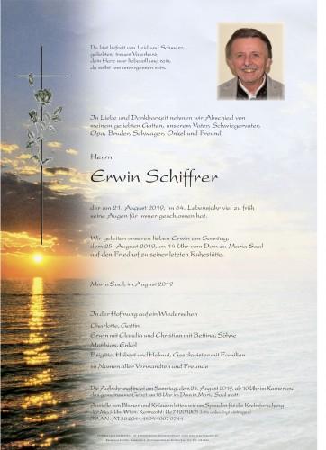 Erwin Schiffrer