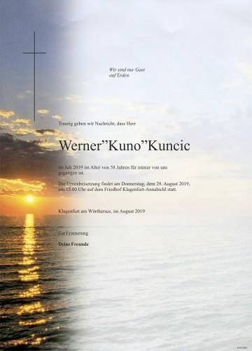 Werner Kuncic