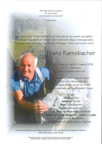 Franz Ramsbacher