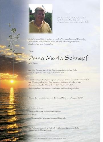 Anna Maria Schnepf
