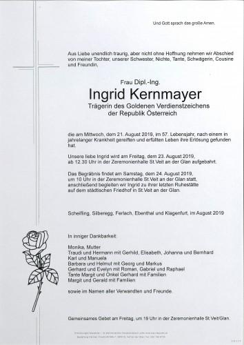 Dipl.-Ing. Ingrid Kernmayer