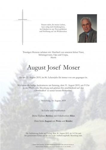 August Josef Moser