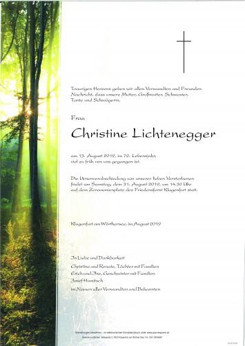 Christine Lichtenegger