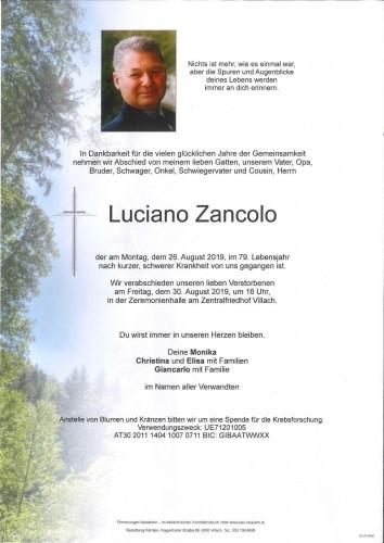 Luciano Zancolo
