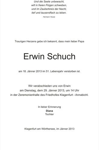 SCHUCH  Erwin