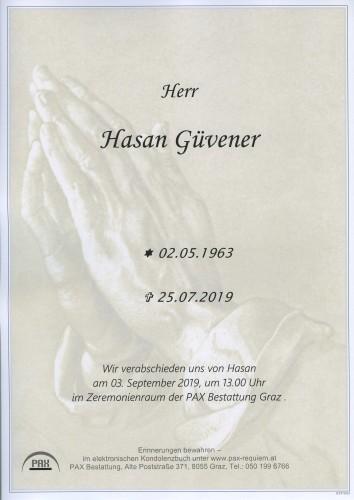 Hasan Güvener