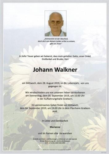 Johann Walkner