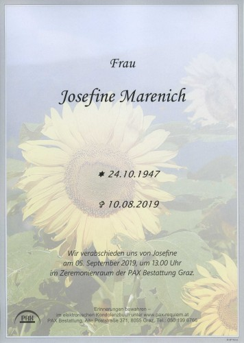 Josefine Marenich