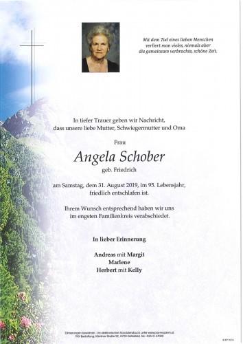 Angela Schober geb. Friedrich