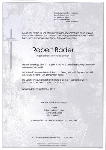 Robert Bader