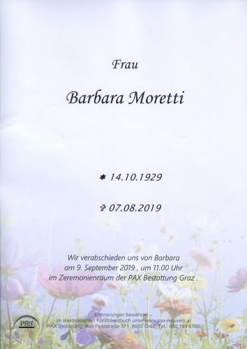 Barbara Moretti
