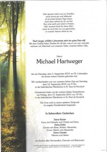 Michael Hartweger