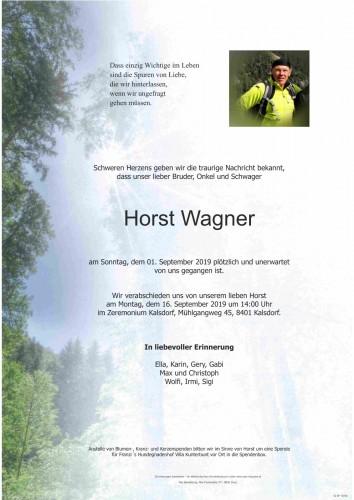 Horst Wagner