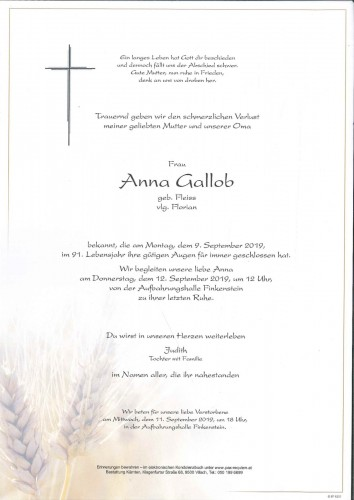 Anna Gallob