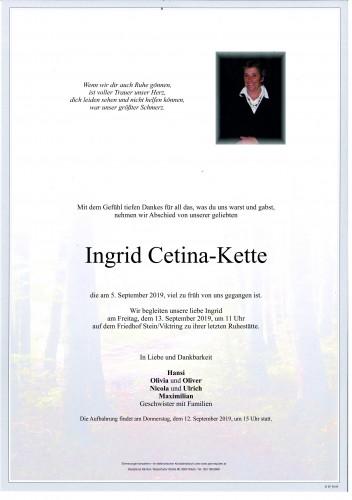Ingrid Cetina-Kette
