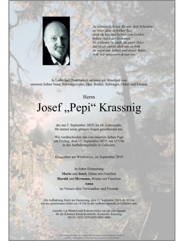 Josef Krassnig sen.