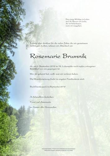 Rosemarie Brumnik
