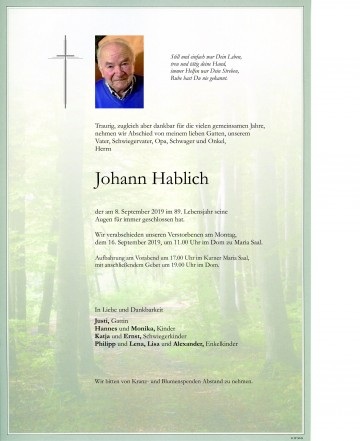 Johann Hablich