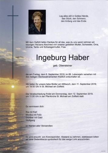 Ingeburg Haber