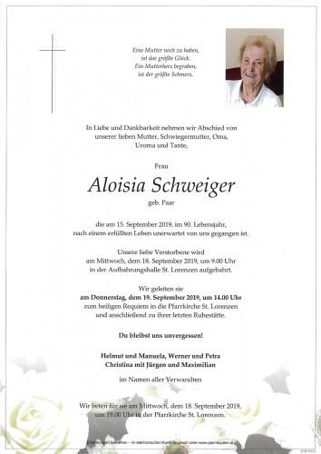 Aloisia Schweiger