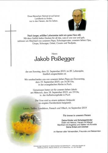 Jakob Poßegger