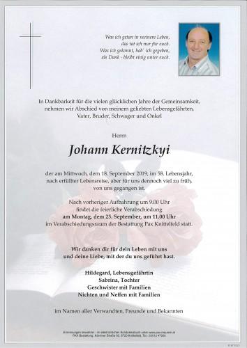 Johann Kernitzkyi
