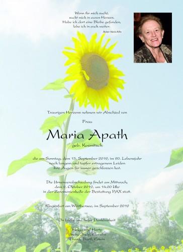 Maria Apath