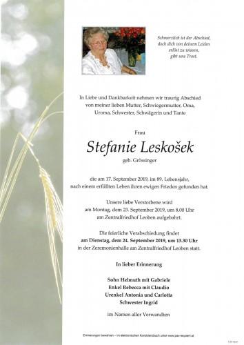 Stefanie Leskošek