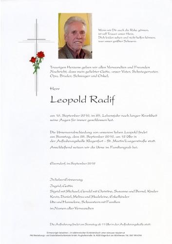 Leopold Radif