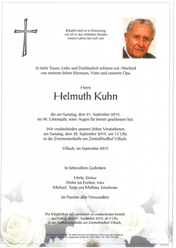 Helmuth Kuhn