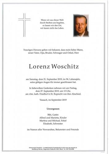Lorenz Woschitz