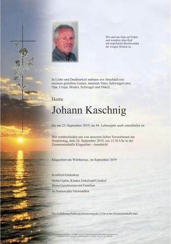 Johann Kaschnig