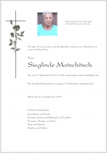 Sieglinde Matschitsch