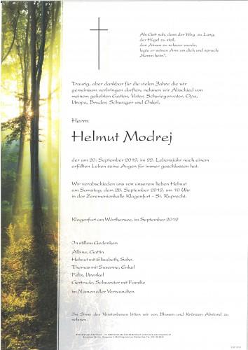Helmut Modrej